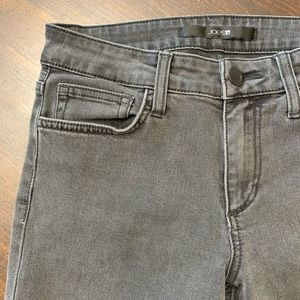 Joe's Jeans Skinny Ankle Faded Black